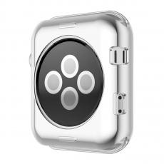 Чехол силиконовый для Apple Watch 38 mm, прозрачный, фото 2