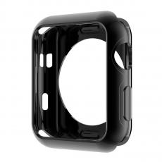 Чехол силиконовый для Apple Watch 38 mm, черный, фото 1