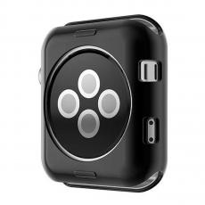 Чехол силиконовый для Apple Watch 38 mm, черный, фото 2