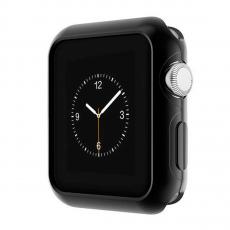 Чехол силиконовый для Apple Watch 38 mm, черный, фото 3
