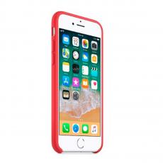 Чехол Apple силиконовый для iPhone 8/7, малиновый, фото 2