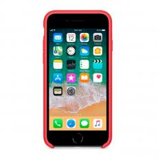 Чехол Apple силиконовый для iPhone 8/7, малиновый, фото 3