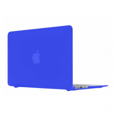 "Чехол Daav Doorkijk с накладкой на клавиатуру для MacBook Air 13"", синий, фото 1"