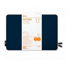 Чехол LAB.C Pattern Pouch для MacBook 13, темно-синий, фото 2