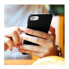 Чехол-накладка Pitaka MagCase для iPhone 7/8, карбон, чёрный /серый, фото 2
