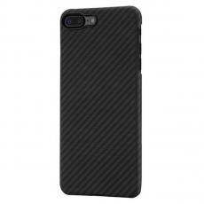 Чехол Pitaka MagCase для iPhone 7/8 Plus, черный/серый, фото 1
