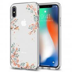 Чехол SGP Liquid Crystal Blossom для iPhone Х, природа, фото 4