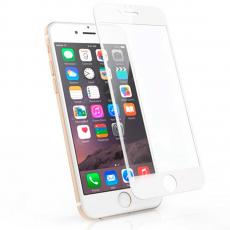 """Защитное стекло Mocoll """"Storm"""" 2.5D для iPhone 7Plus и 8Plus, белый, фото 1"""