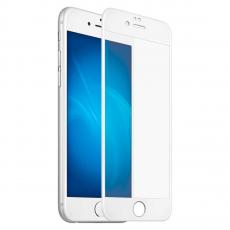 """Защитное стекло Mocoll """"Storm"""" 2.5D для iPhone 7Plus и 8Plus, белый, фото 3"""