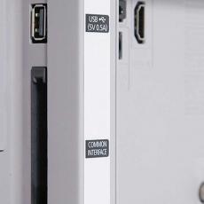 Телевизор Samsung UE24H4080 LED, 24 дюйма (60 см), белый, фото 4
