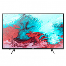 Телевизор Samsung LED UE43J5202AU, 43 дюйма (108 см), чёрный, фото 1