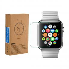 Стекло защитное, прозрачное 2.5D для Apple Watch 42mm, фото 3