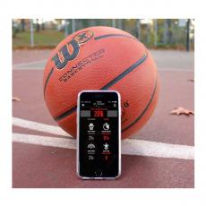 Баскетбольный мяч Wilson X Connected Smart Basketball с отслеживанием бросков, оранжевый, фото 2