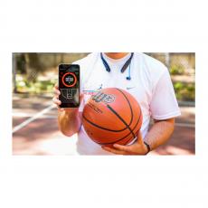 Баскетбольный мяч Wilson X Connected Smart Basketball с отслеживанием бросков, оранжевый, фото 3