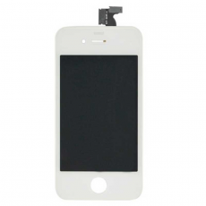 Дисплейный модуль для iPhone 4, Sharp, белый, фото 1