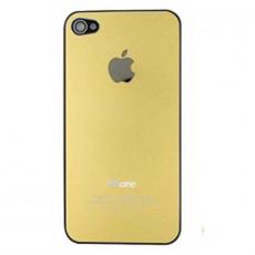 """Задняя крышка для iPhone 4, алюминиевый сплав, """"узорчатое золото"""", фото 1"""