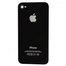 Задняя крышка для iPhone 4, с рамкой, класс А, черный, фото 1