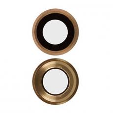 """Защита основной камеры и рассеиватель вспышки для iPhone 6 Plus/6S Plus, """"золото"""", фото 1"""