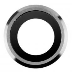 Защита основной камеры и рассеиватель вспышки для iPhone 6, серебро, фото 1