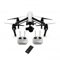 Квадрокоптер DJI Inspire 1 RAW с 2 пультами, SSD, объективом, белый, фото 1
