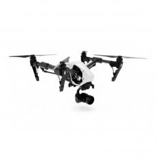 Квадрокоптер DJI Inspire 1 RAW с 2 пультами, SSD, объективом, белый, фото 2