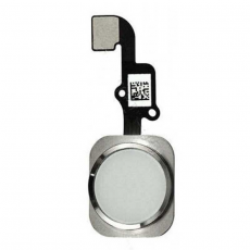 "Кнопка ""домой"" для iPhone 6/6 Plus, в сборе со шлейфом, оригинал, серебро, фото 1"