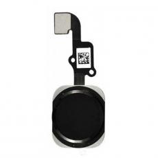 Кнопка домой для iPhone 6/6 Plus, в сборе со шлейфом, оригинал, черный, фото 1