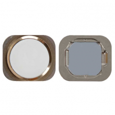 """Кнопка """"домой"""" для iPhone 6S/6S Plus, в сборе со шлейфом, оригинал, """"золотой"""", фото 1"""