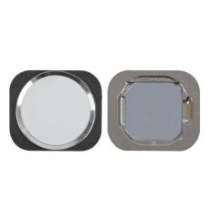 "Кнопка ""домой"" для iPhone 6S/6S Plus,  в сборе со шлейфом, оригинал, серебро, фото 1"