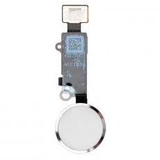 """Кнопка """"домой"""" для iPhone 7/7 Plus, в сборе со шлейфом, оригинал, серебряный, фото 1"""