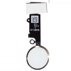 """Кнопка """"домой"""" для iPhone 7/7 Plus, в сборе со шлейфом, оригинал, """"шампанское золото"""", фото 1"""