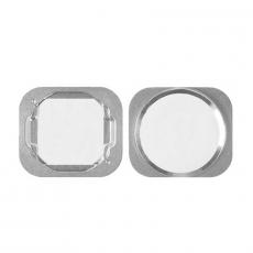 "Кнопка ""домой"" для iPhone 5S/SE, оригинал, белый/серебро, фото 1"