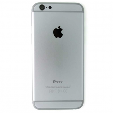Корпус-крышка для iPhone 6, с черным лого, класс A, матовый черный, фото 1