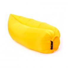 """Надувной диван """"Ламзак"""", жёлтый, фото 1"""