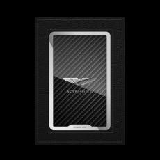"""Обложка для автодокументов Jumo, итальянская кожа, никель с посеребрением, """"Aston Martin"""", фото 1"""