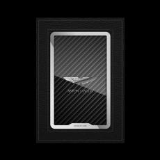 """Обложка для паспорта Jumo, натуральная кожа, никель с посеребрением """"Aston Martin"""", фото 1"""
