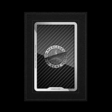 """Обложка для паспорта Jumo, натуральная кожа, никель с посеребрением, """"Mercedes-Benz"""", фото 1"""