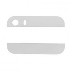 Стеклянные вставки (верх + низ) для iPhone 5S, оригинал, белый, фото 1