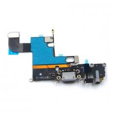 Шлейф аудио и зарядки для iPhone 6, оригинал, черный, фото 1