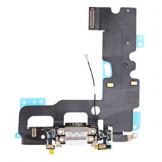Шлейф аудио и зарядки для iPhone 7 Plus, оригинал, белый, фото 1