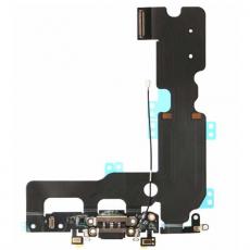Шлейф аудио и зарядки для iPhone 7 Plus, оригинал, черный, фото 1