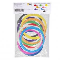 Набор пластика для 3D-рисования 3D-Mix PLA, 10 цветов, фото 2