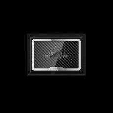 """Обложка для удостоверения Jumo Cover с посеребрением, """"Герб МВД""""., фото 1"""