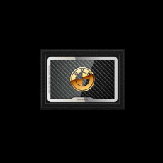 """Обложка для удостоверения Jumo Cover с позолотой, """"BMW""""., фото 1"""