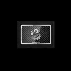 """Обложка для удостоверения Jumo Cover с посеребрением, """"BMW""""., фото 1"""