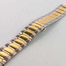 Ремешок для Apple Watch 42mm, сталь, золотой / серебристый, фото 3