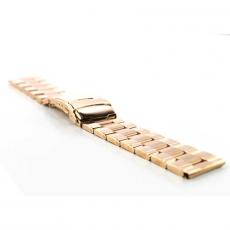 Ремешок для Apple Watch 42mm, сталь, золотой, фото 3