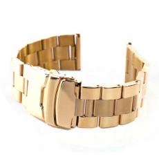 Ремешок для Apple Watch 42mm, сталь, золотой, фото 4