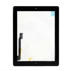 """Сенсорный модуль для iPad 3/4, с кнопкой """"домой"""", оригинал, черный, фото 1"""