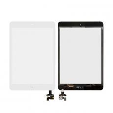 Сенсорный экран для iPad Mini / Mini 2, с IC-коннектором, класс А, белый, фото 1